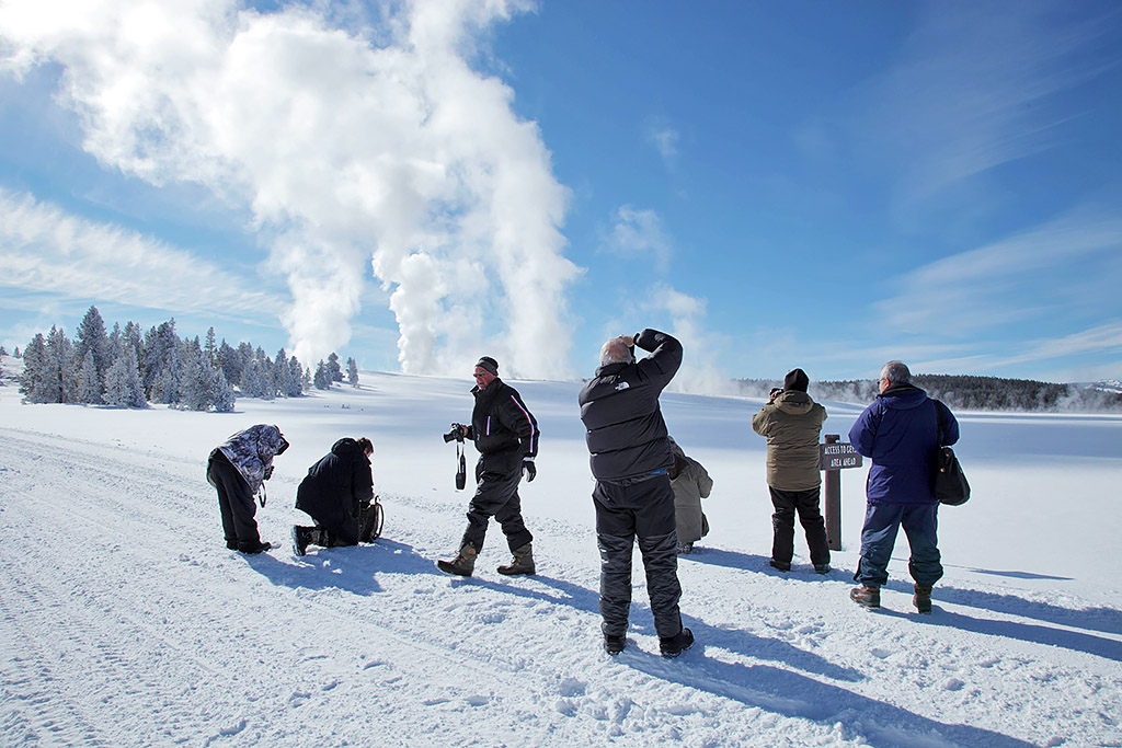 Winter Photography in Yellowstone National Park